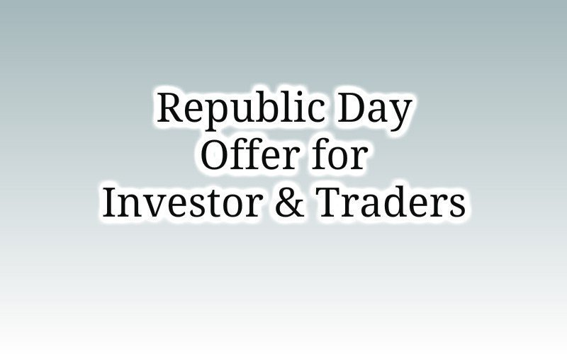 Republic day offer for Investor and Traders