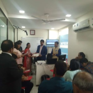 Inauguration Reliance Securities Trading Lab - IFMC Delhi