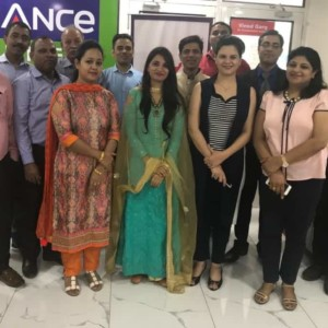 Inauguration Reliance Securities Trading Lab- IFMC Institute
