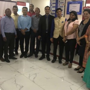Inauguration Reliance Securities Trading Lab - IFMC Institute Noida
