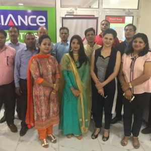 Inauguration Reliance Securities Trading Lab at IFMC Institute