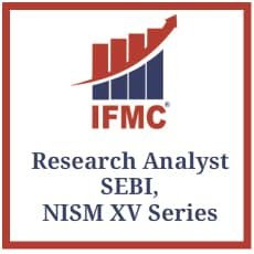 Research Analyst SEBI, NISM XV Series