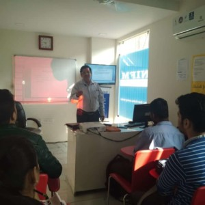 IFMC Conducted An Awareness Workshop By Sebi Resource Person Mr SK Anand With Student's