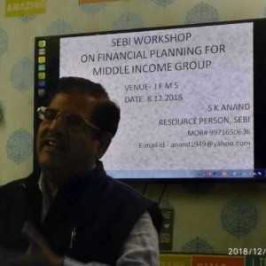 Laxmi Nagar Branch Inauguration & Workshop by SEBI Resource Person MR S.K Anand (5)