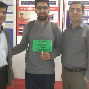 2nd winner of udts live trading - shubham sethi