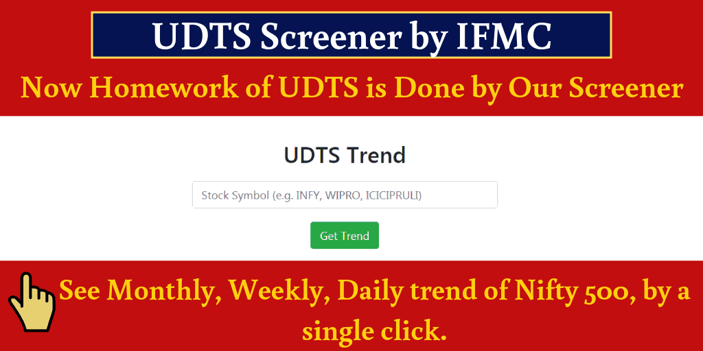 UDTS Screener by IFMC Institute