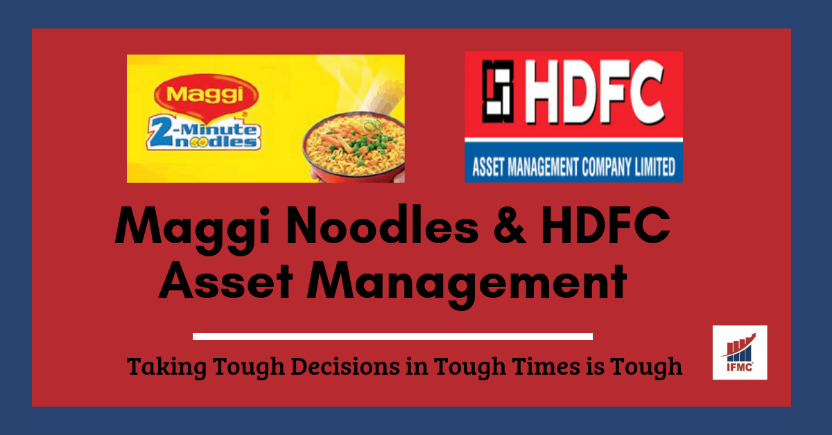 maggi noodles & hdfc asset management shares
