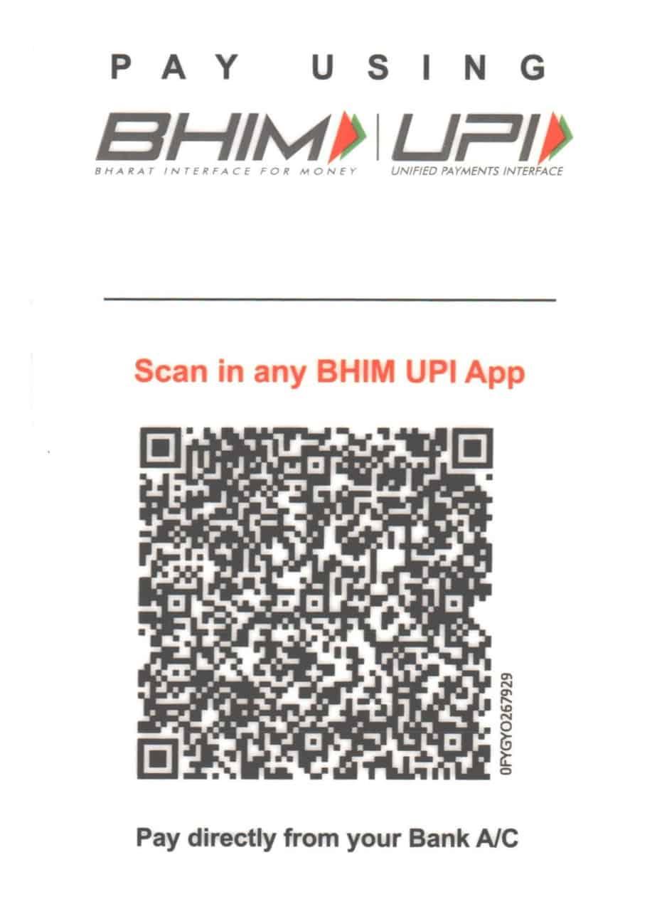 Bhim Scan Code - IFMC Institute