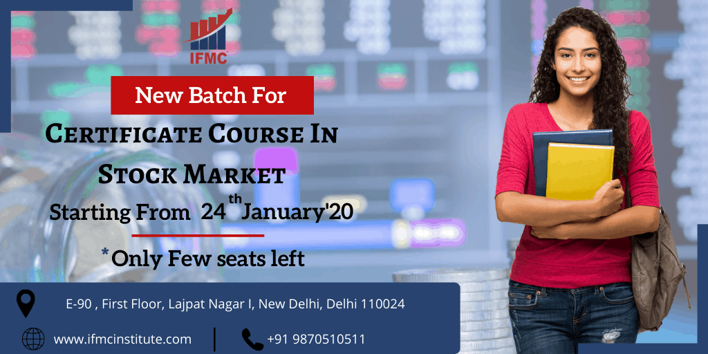 certification course in stock market 24 january lajpat nagar