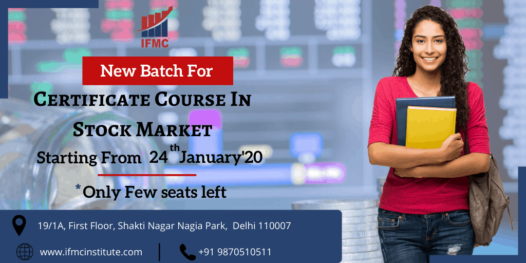 certification course in stock market 24 january north campus