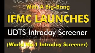 IFMC launches UDTS Intraday Screener