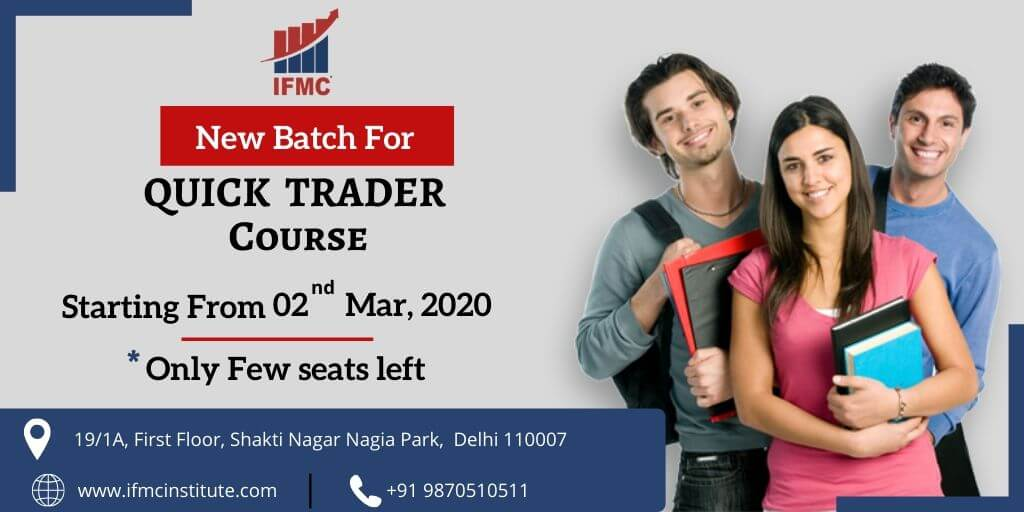 Quick Trader 2nd March North Campus