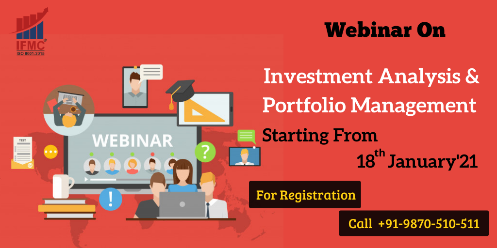 investment analysis & portfolio management webinar 18 january