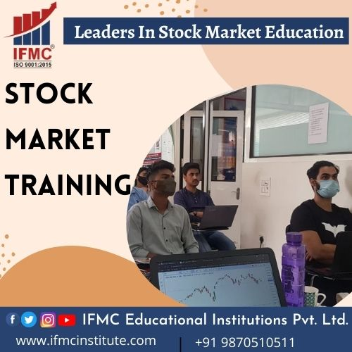 stock market training at IFMC Institute Delhi India