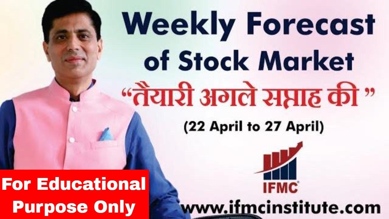 "Weekly Forecast of Stock Market 22 April to 27 April l ""तैयारी अगले सप्ताह की ""Part-2 ll"